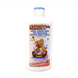 Shampoo Líquido Suave Filhotes com Antipulgas Mersey