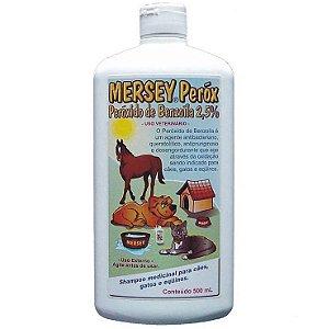 Shampoo Peróxido de Benzoíla 2,5 % Mersey