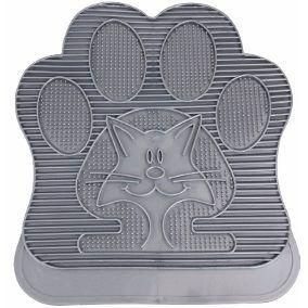 Tapete Banheiro Gato Pegada Pawise
