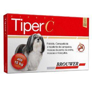 Antipulgas Tiper C Brouwer para Cães até 15 kg