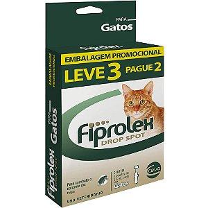 Combo Antipulgas Fiprolex Ceva para Gatos