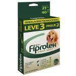 Combo Antipulgas Fiprolex Ceva para Cães 21 a 40 kg