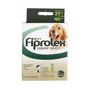 Antipulgas Fiprolex Ceva para Cães 21 a 40 kg
