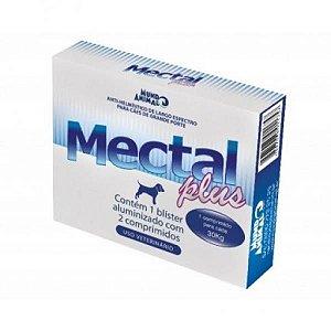 Vermífugo Mectal Plus para Cães 30 kg 2 Comp Mundo Animal