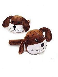 Cachorro Pelúcia com Apito