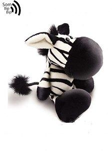 Zebra Pelúcia com Apito