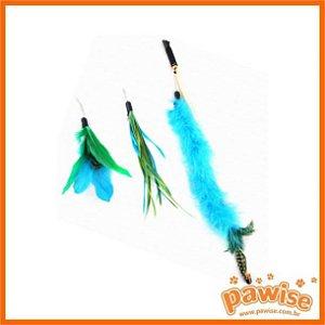 Varinha  Gato 45 cm com 3 brinquedos Pawise