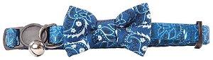 Coleira Azul Gato Pawise