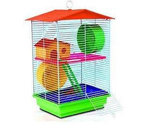 Gaiola Hamster 2 Andares Ornamental