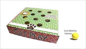 Brinquedo Papelão Interativo para Gato Cat Play Pet Star