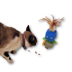 Brinquedo Porta Ração para Gato Emotion Amicus