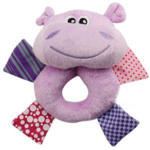 Hipopotamo Argola em Pelúcia