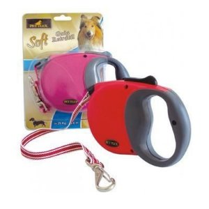 Guia Retrátil Cordão 4m até 25 kg Pet Flex Soft