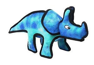 Dinossauro Azul Pelúcia com Apito Pawise