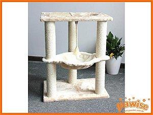 Arranhador Torre Cama com Catnip Pawise
