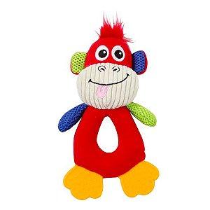 Pelúcia Macaco Com Apito Pawise