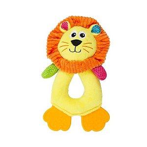 Pelúcia Leão Com Apito Pawise