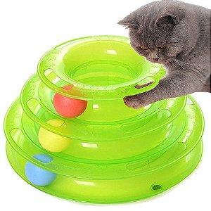 Brinquedo Interativo Torre para Gato Pawise