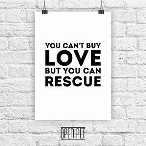Poster Love Rescue