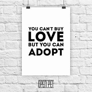 Poster Love Adopt