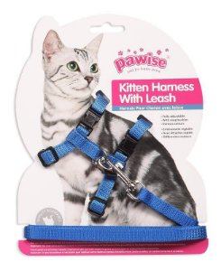 Peitoral Guia Lisa para Gatos M Pawise