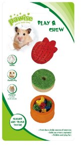 Petisco Vegetal Fruit 3 un  Pawise