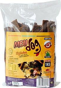 Bifinho Meu Dog Sabor Carne 1kg