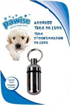 Tubo Identificação Cães e Gatos Pawise