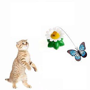 Borboleta Giratoria interativa para Gato
