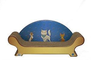 Arranhador Papelão Viena 3 Gato Catnip