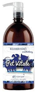 Máscara Pet Vitale Empório Pet  1Kg Extrato de Blueberry