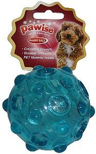 Bola para Cães porta petisco Plástico Pet Pawise