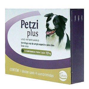 Vermífugo Petzi Plus 10 kg Ceva