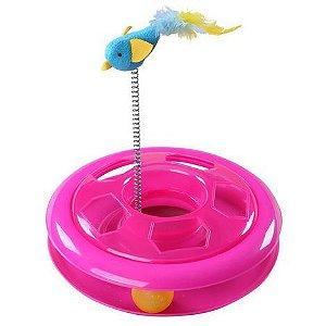 Brinquedo Interativo Gato Bolinha Catnip  Pawise
