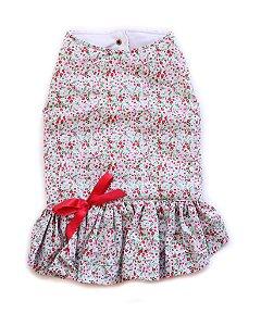 Vestido Capa Florido Forro de Broderi