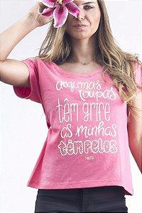 Camiseta Feminina - Algumas Roupas Têm Grife