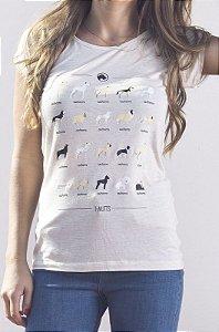 Camiseta Feminina - Catálogo
