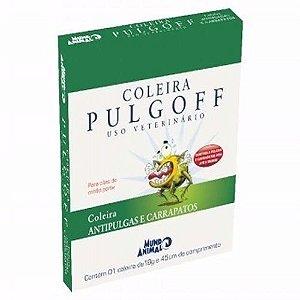 Coleira Antipulgas PULGOFF para Cães e Gatos M 45 cm