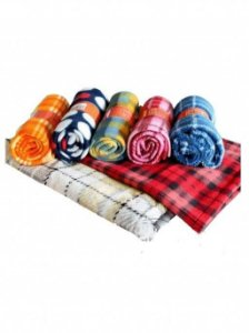 Cobertor Soft Estampado Xadrez