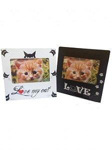 Porta Retrato Pet Love Gatinho