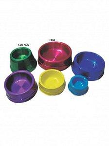 Comedouro Alumínio Pesado Color Royale