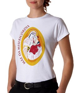 Camiseta Mãe da Misericórdia