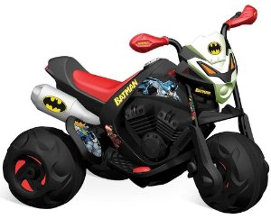 Moto Elétrica Infantil Batmoto Trail 6v Bandeirante