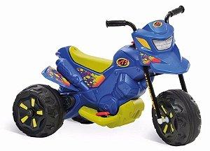 Mini Moto Elétrica Infantil XT3 6v Azul Bandeirante