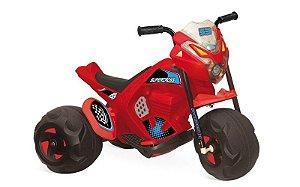 Mini Moto Elétrica Infantil Super Cross 6v Bandeirante
