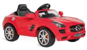 Mini Veículo Brinquedo Mercedes AVG Elétrico 6v Bandeirante