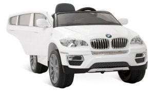 Mini Veículo Brinquedo Elétrico BMW X6 Branca 6v Bandeirante
