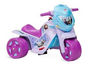 Mini Moto Elétrica Infantil Ban Moto Frozen 6v Bandeirante