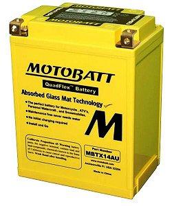 Bateria Motobatt Mbtx14au Yb14a2 Honda CB 1000F