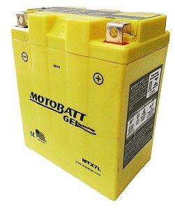 Bateria Gel Motobatt Mtx7l Ytx7l-bs Yamaha Fazer 250